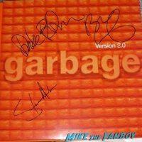Garbage Steve Marker signed autograph version 2.0 album