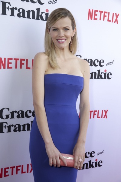 "Brooklyn Decker seen at Season Two Premiere of Netflix original series ""Grace and Frankie"" on Sunday, May 1, 2016, in Los Angeles, CA. (Photo by Eric Charbonneau/Invision for Netflix/AP Images)"