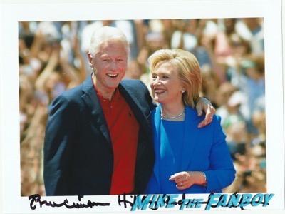 Hillary Clinton Bill Clinton  signing autographs 2016 presidential primary 6Hillary Clinton Bill Clinton  signing autographs 2016 presidential primary 6