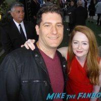 Miranda Otto Fan Photo Signed Autograph Homeland FYC Q and a Claire Danes Mirando Otto 31