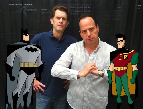 Loren Lester and Kevin Conroy