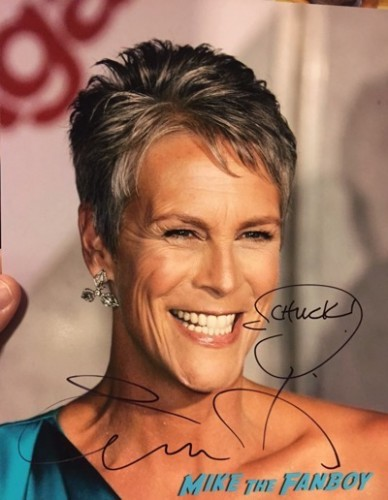 Jamie Lee Curtis fan photo signing autographs 1