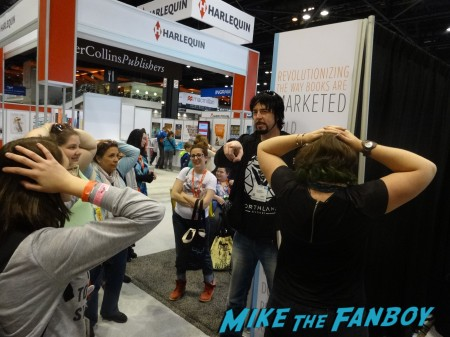 Jay gives out ARCs (3)