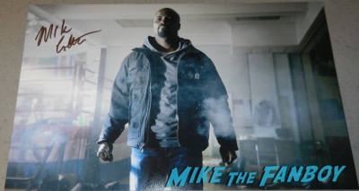 mike colter signed autograph luke cage poster