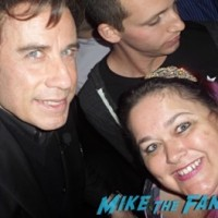 John Travolta fan photo selfie 1