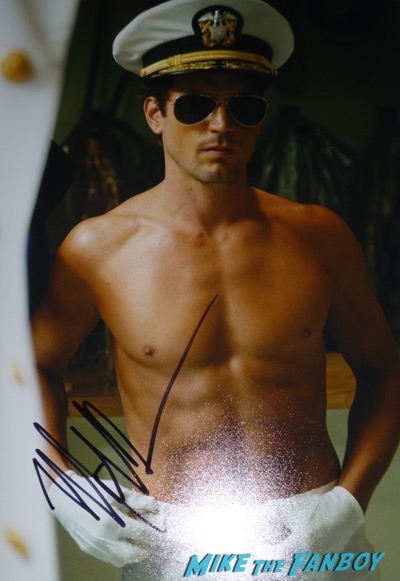 Matt Bomer Signature shirtless naked magic mike photo