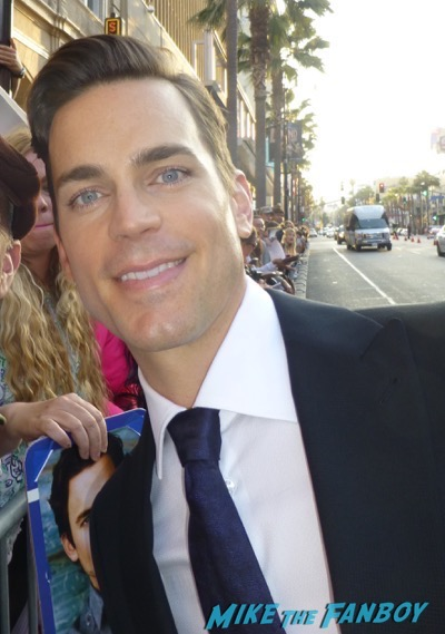 Matt Bomer fan photo hot sexy rare