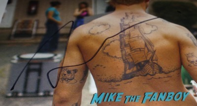 Ryan Gosling signed autograph shirtless hot sexy photo back tatoo