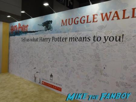 Scholastic Harry Potter wall