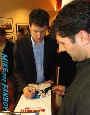 Zach Woods signing autographs fan photo rare