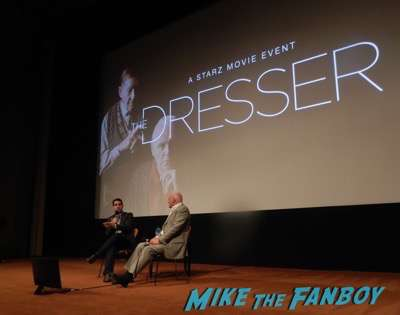 The Dresser q and a meeting anthony hopkins1