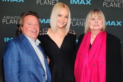 Jennifer Lawrence== IMAX World Premiere of A Beautiful Planet== AMC Loews Lincoln Square, NYC== April 16, 2016== ©Patrick McMullan== Photo- Owen Hoffmann/PMC==