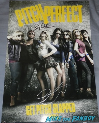 Skylar astin signed autograph pitch perfect poster