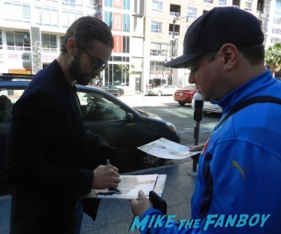 chace crawford signing autographs hot sexy 3