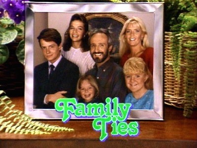 family ties_title sequence