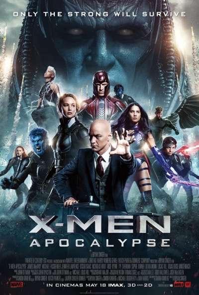 x men apocalypse movie poster one sheet