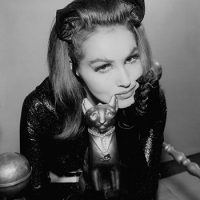 Julie Newmar signed photo