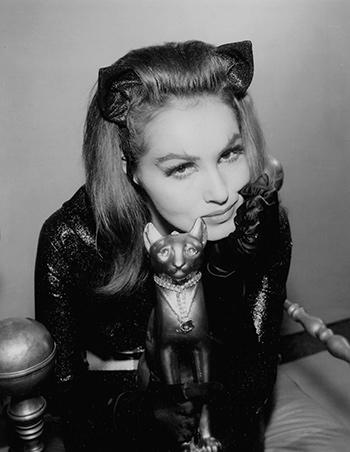 Julie Newmar signed photo