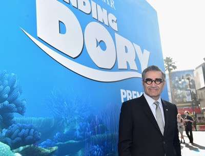 HOLLYWOOD, CA - JUNE 08:  Actor Eugene Levy attends The World Premiere of Disney-Pixarís FINDING DORY on Wednesday, June 8, 2016 in Hollywood, California.  (Photo by Alberto E. Rodriguez/Getty Images for Disney) *** Local Caption *** Eugene Levy