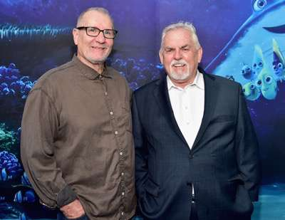 HOLLYWOOD, CA - JUNE 08: Actors Ed O'Neill (L) and John Ratzenberger attend The World Premiere of Disney-Pixarís FINDING DORY on Wednesday, June 8, 2016 in Hollywood, California.  (Photo by Alberto E. Rodriguez/Getty Images for Disney) *** Local Caption *** Ed O'Neill; John Ratzenberger
