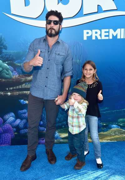 HOLLYWOOD, CA - JUNE 08: Actor Jon Bernthal (L) and guests attend The World Premiere of Disney-Pixarís FINDING DORY on Wednesday, June 8, 2016 in Hollywood, California.  (Photo by Alberto E. Rodriguez/Getty Images for Disney) *** Local Caption *** Jon Bernthal