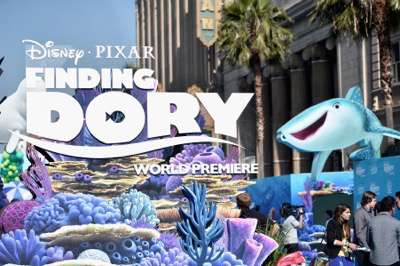 HOLLYWOOD, CA - JUNE 08:  A view of the atmosphere at The World Premiere of Disney-Pixarís FINDING DORY on Wednesday, June 8, 2016 in Hollywood, California.  (Photo by Alberto E. Rodriguez/Getty Images for Disney)