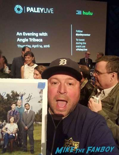 Angie Tribecca paley center Rashida Jones signing autographs5