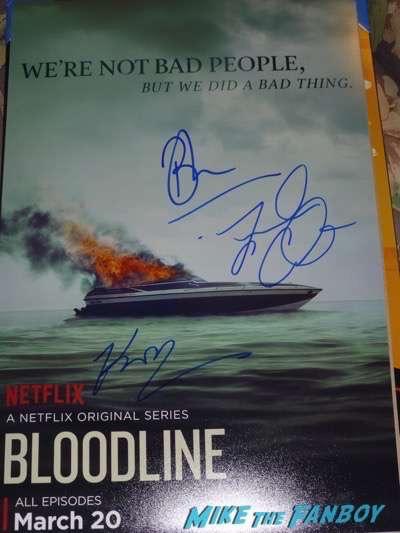 Bloodline season 2 premiere kyle chandler signing autographs 2