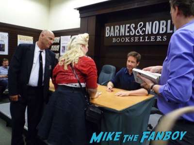 David Duchovny book signing bucky f ucking dent 2