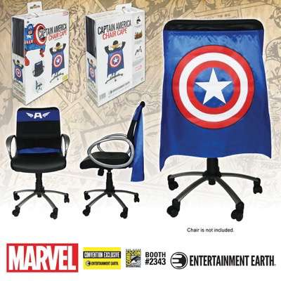Captain America Chair Cape SDCC Exclusive EE