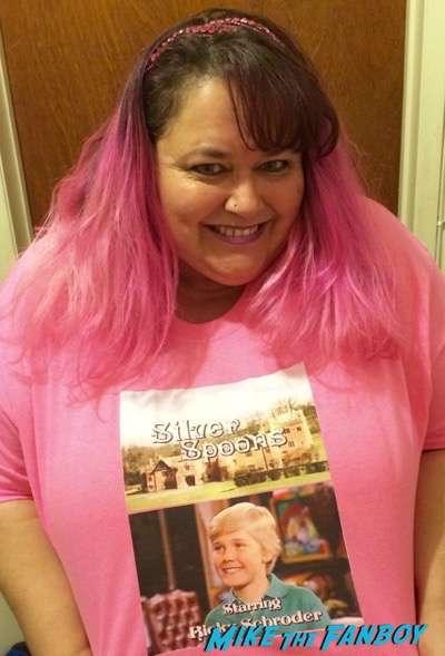 kristen pinky coogan ricky schroeder shirt