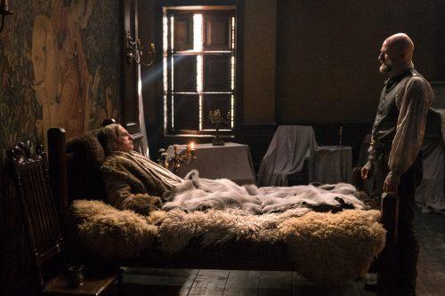 Gary Lewis (as Colum Mackenzie), Graham McTavish (as Dougal MacKenzie) Ep. 212