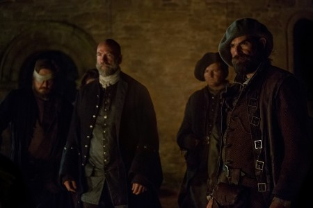 Graham+McTavish+(as+Dougal+Mackenzie),+Duncan+Lacroix+(Murtagh+Fitzgibbons)-+Episode+211