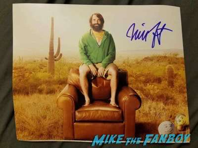 will forte signed autograph last man on earth photo