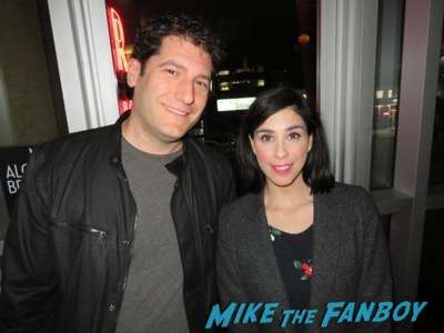 sarah silverman fan photo signing autographs Masters of Sex FYC 2016 panel michael sheen sarah silverman 21