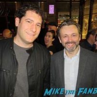 Michael Sheen fan photo signing autographs Masters of Sex FYC 2016 panel michael sheen sarah silverman 21