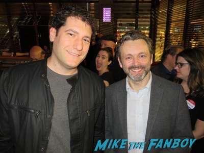 Michael Sheen fan photo signing autographs Masters of Sex FYC 2016 panel michael sheen sarah silverman 21