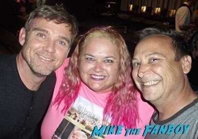 Ricky Schroder fan photo meeting fans