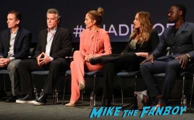 Shades of Blue FYC q and a meeting Jennifer Lopez 1