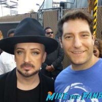 culture club boy george signing autographs jimmy kimmel live 2016 11