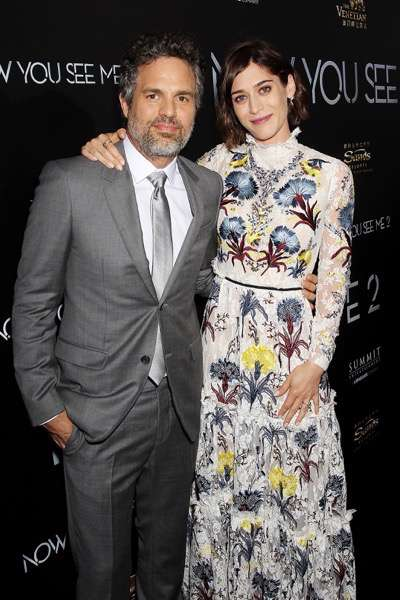 """- New York, NY - 6/6/16 - Summit Entertainment Presents the World Premiere of """"Now You  See Me 2"""" -Pictured: Mark Ruffalo, Lizzy Caplan -Photo by: Marion Curtis/StarPix"""