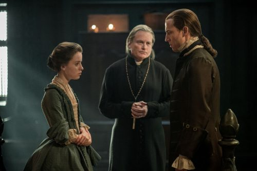 Rosie Day (as Mary Hawkins), Tobias Menzies (as Black Jack Randall) Ep.212