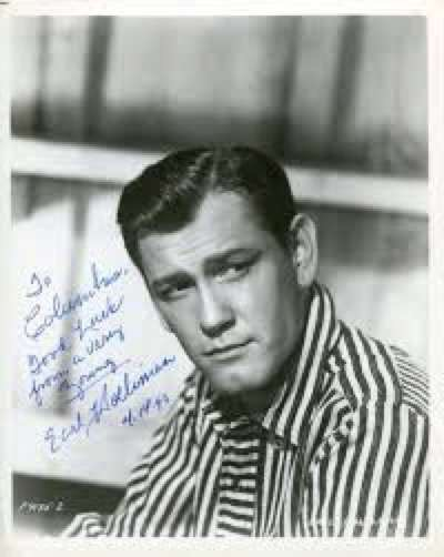 Earl Holliman signed autograph photo