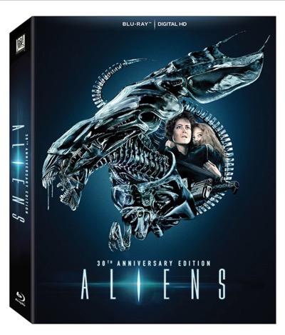 Aliens blu ray 30th anniversary edition 1
