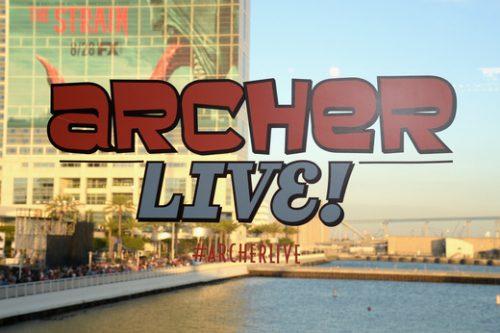 Archer Live Cast FX1