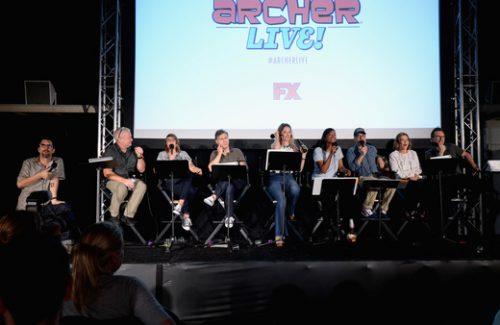 Archer Live Cast FX13