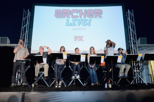 Archer Live Cast FX15