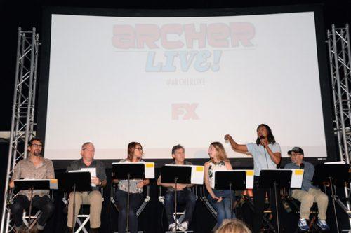 Archer Live Cast FX16