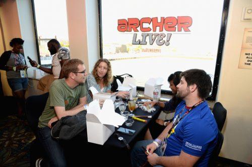Archer Live Cast FX31