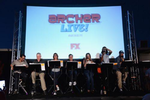 Archer Live Cast FX49